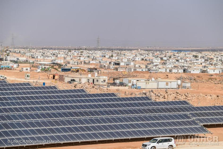 JORDAN'S ZA'ATARI SOLAR PARK<br> MAKES THE DIFFERENCE FOR <br>80,000 REFUGEES