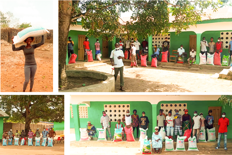 COVID-19 INITIATIVE: RICE APPEAL FOR CHILDREN IN THE LUNGI AREA