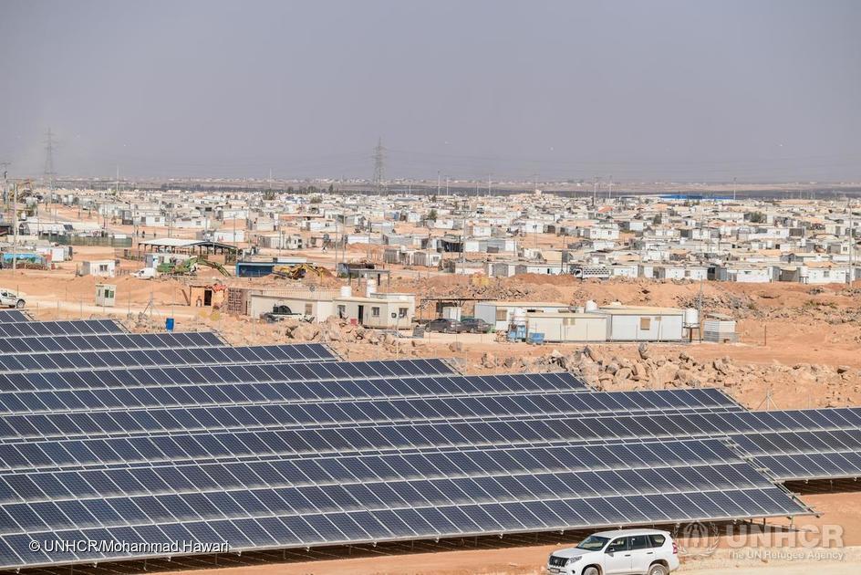 """阿特斯让太阳能""""照亮""""约旦扎塔里难民营"""